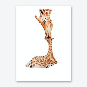 Giraffe V Art Print
