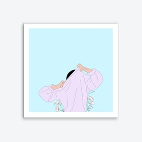 The Struggle Is Real Art Print