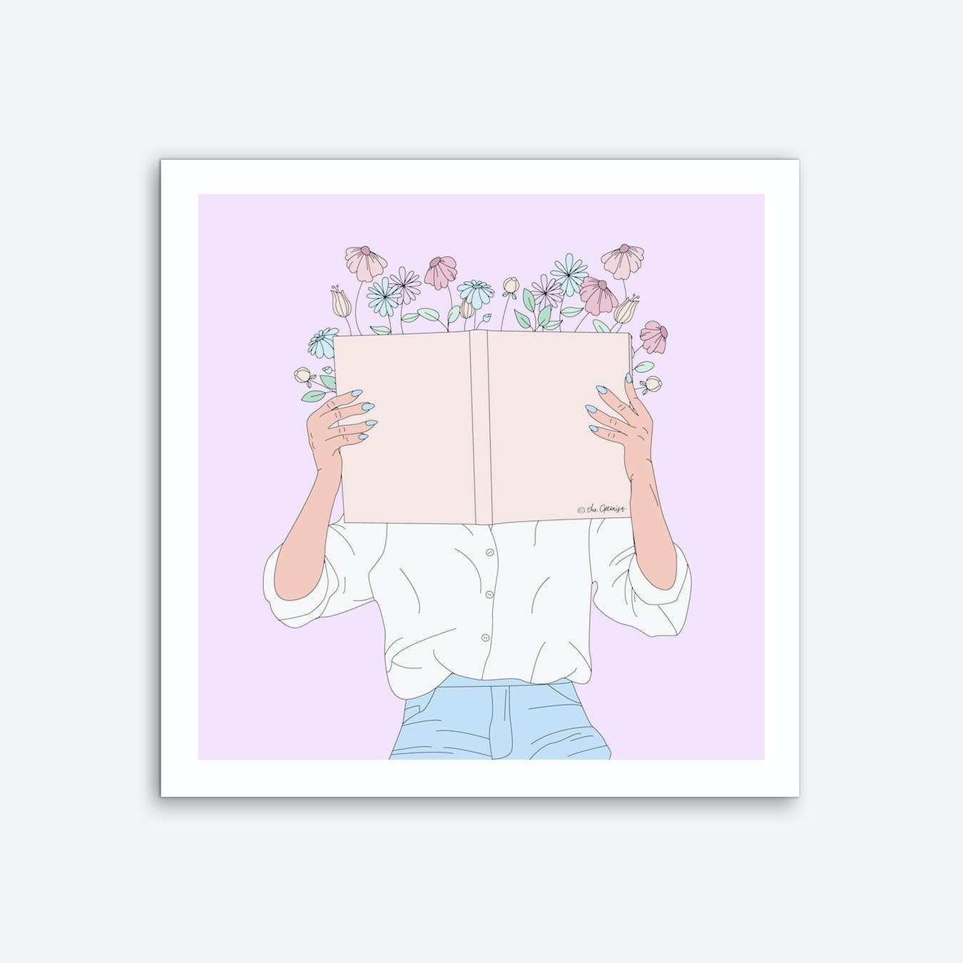 Read All About It Art Print