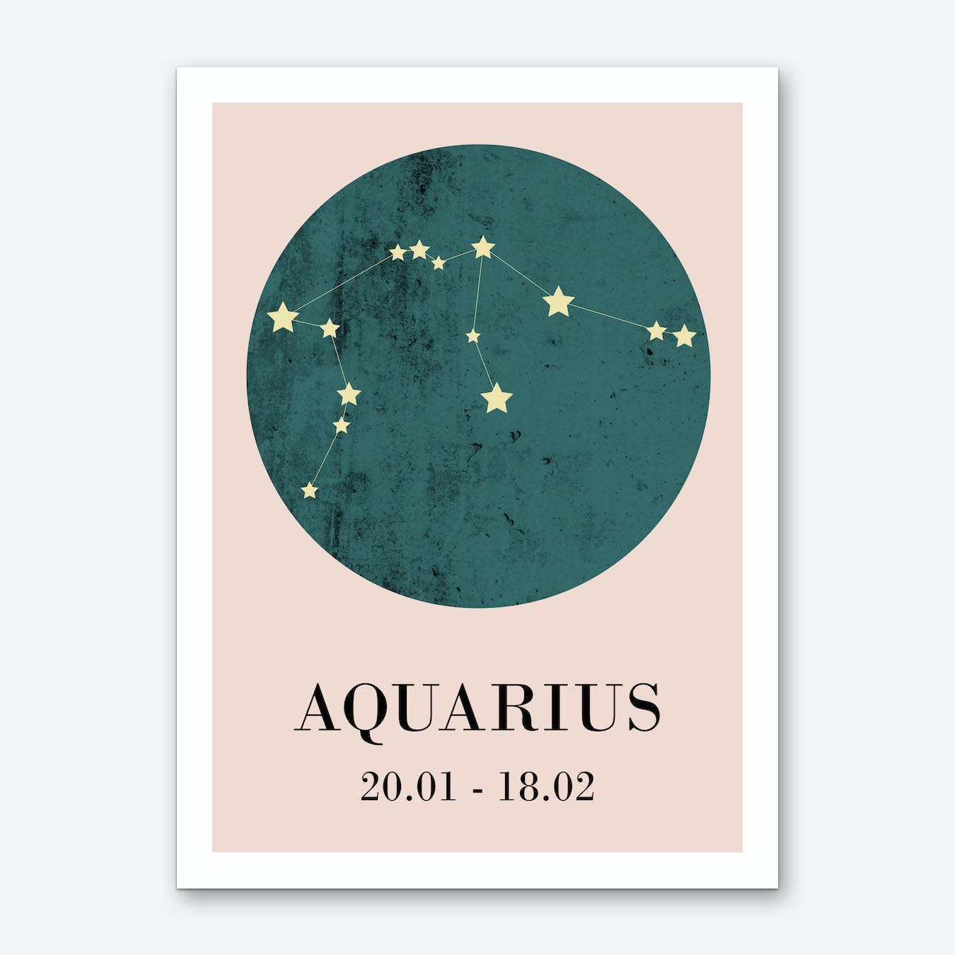 Aquaries Art Print I