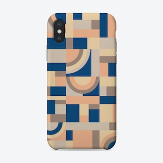 Soft And Blue Blocks Phone Case