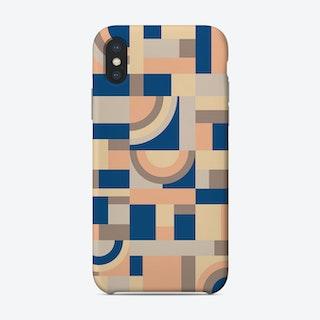 Soft And Blue Blocks Phone Case