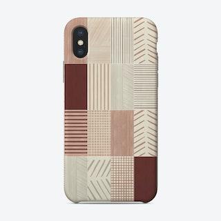 Rustic Tiles 01 Phone Case