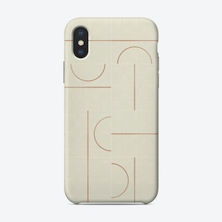Minimal Wall Tiles 01 Phone Case