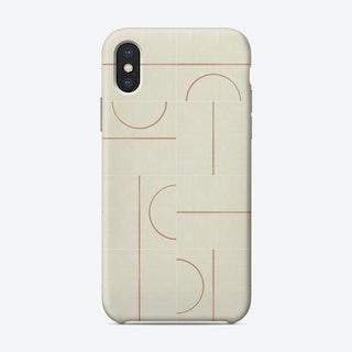 Minimal Wall Tiles 01 Phone Case