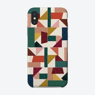 Tangram Wall Tiles 01 Phone Case