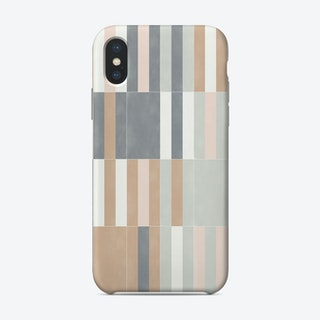 Muted Pastel Tiles 03 Phone Case