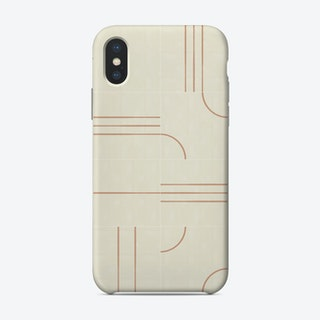 Minimal Wall Tiles 02 Phone Case