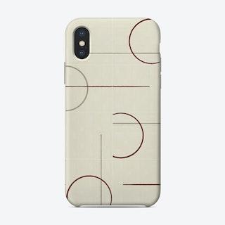 Minimal Rustic Tiles 02 Phone Case