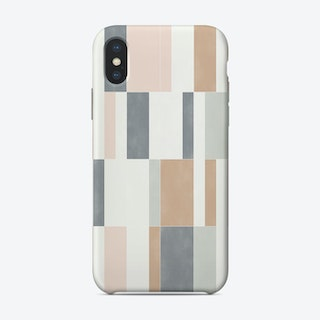 Muted Pastel Tiles 01 Phone Case