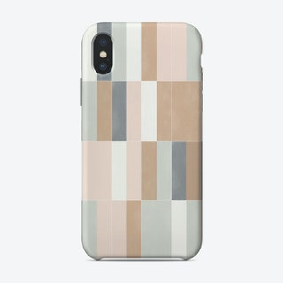 Muted Pastel Tiles 02 Phone Case