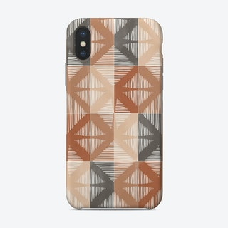 Mudcloth Tiles 01 Phone Case