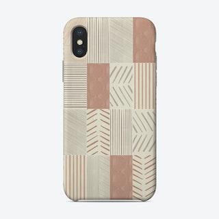 Rustic Tiles 02 Phone Case