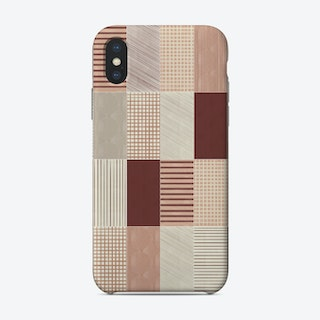 Rustic Tiles 03 Phone Case