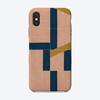 Painted Wall Tiles 02 Phone Case