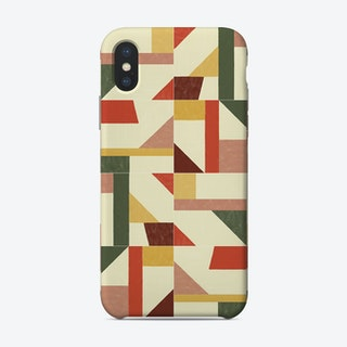 Tangram Wall Tiles 02 Phone Case