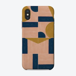 Painted Wall Tiles 01 Phone Case