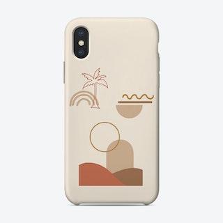 Minimal Dune 02 Phone Case