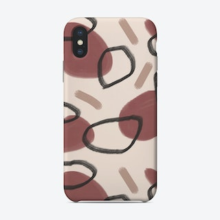 Abstract Fall Ii Phone Case