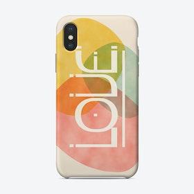 Stones Of Love Phone Case