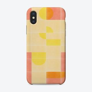 Retro Tiles 01 Phone Case