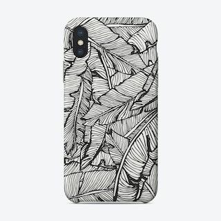 Black & White Jungle Phone Case