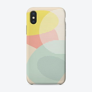 Lost In Shapes Iii Phone Case