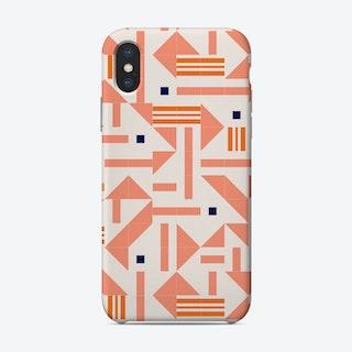 Random Tiles Phone Case