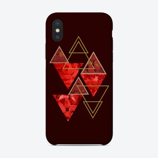 Red Fall Phone Case