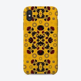 Fiesta Folk Yellow Phone Case
