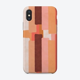 Line In Coral Phone Case