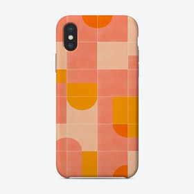 Retro Tiles 03 Phone Case