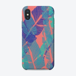 Carved Fluo Jungle Phone Case