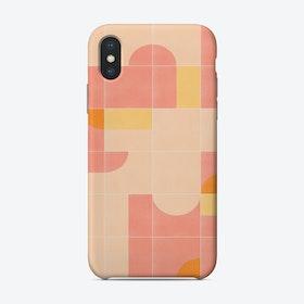Retro Tiles 02 Phone Case