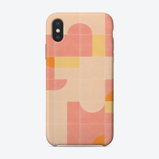 Retro Tiles 02 Phone Case