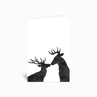 Seasons Kissings Greetings Card