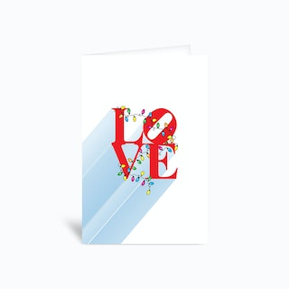 Love Christmas In NYC Greetings Card