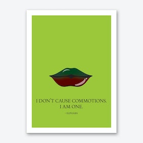 From The Lips of Elphaba Art Print