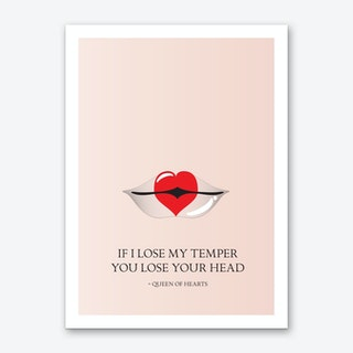 From The Lips of Queen of Hearts Art Print