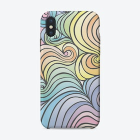 Swirly Whirly iPhone Case