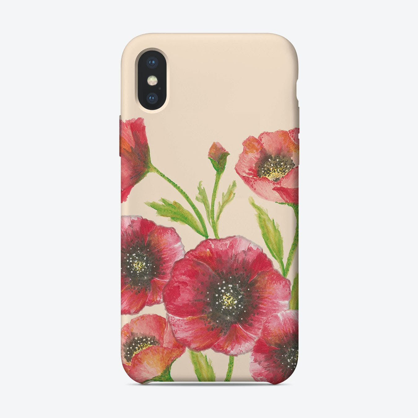 Remember Me Poppies  iPhone Case