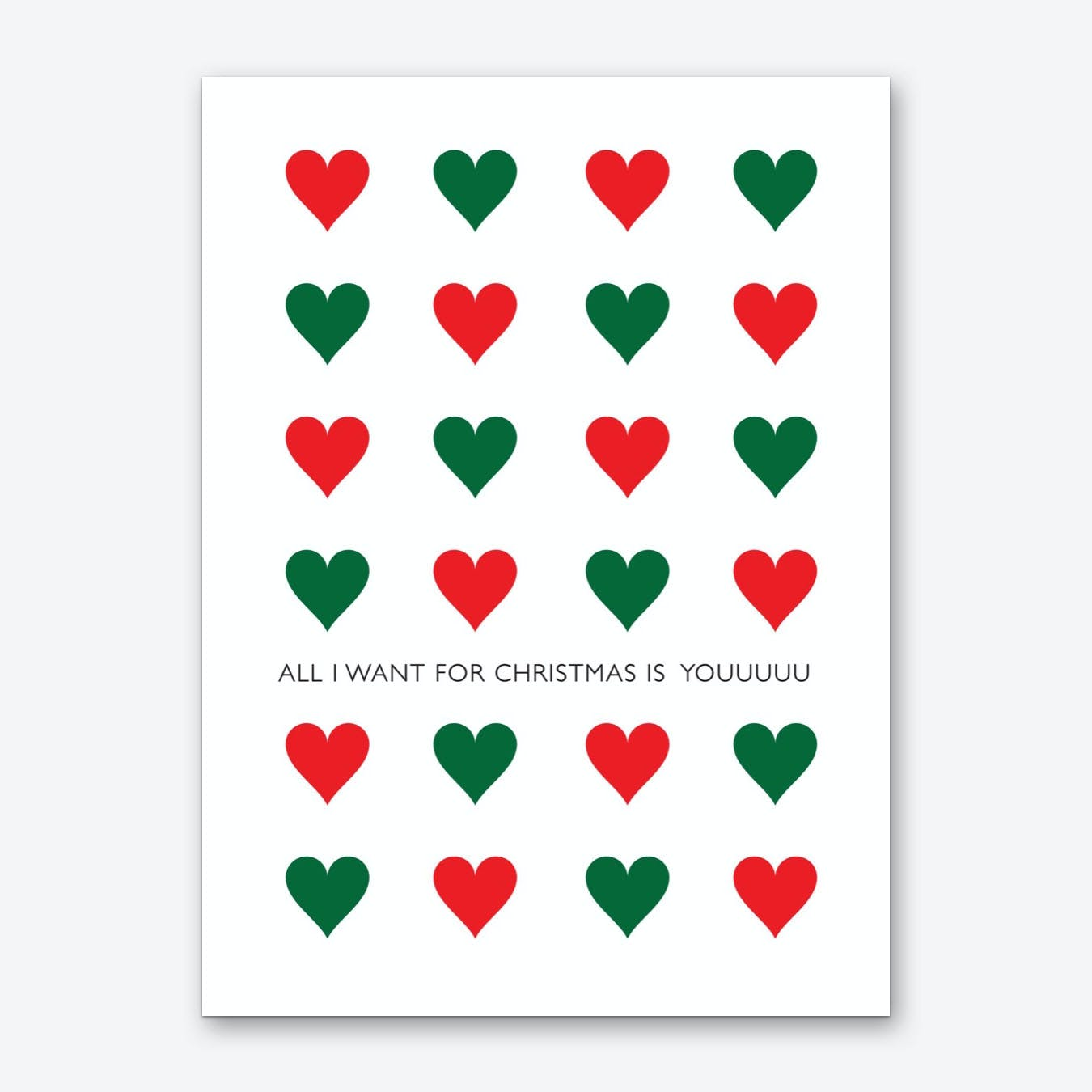 All I Want for Christmas Art Print