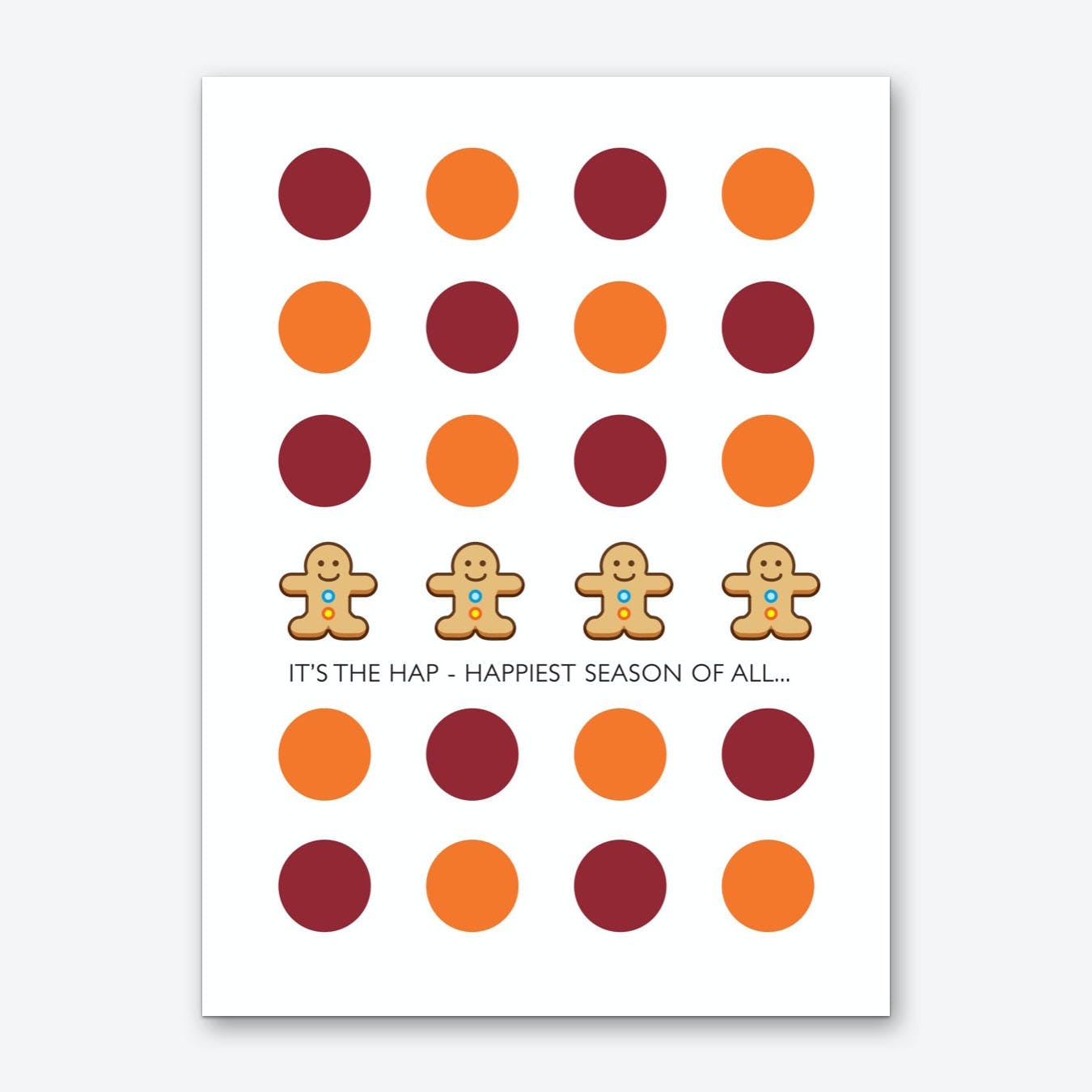 Happiest Season of All Art Print