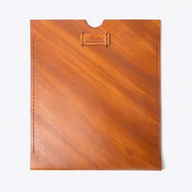iPad Case in Brown Leather