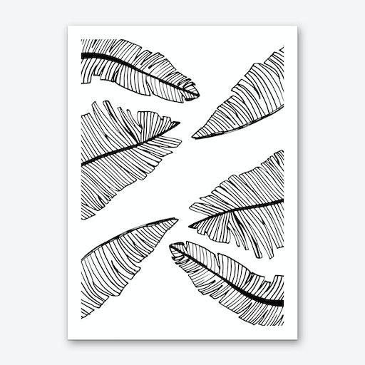 Banana Leaves I Art Print