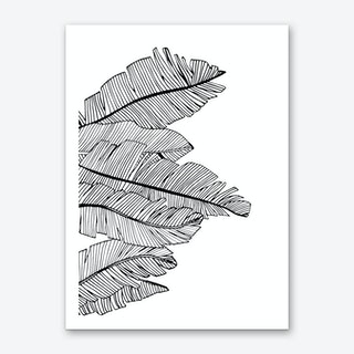 Banana Leaves V Art Print