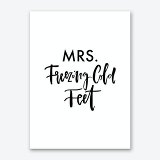 Mrs. Freezing Cold Art Print