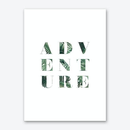 Adventure Green Art Print