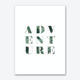 Adventure Green Art Print