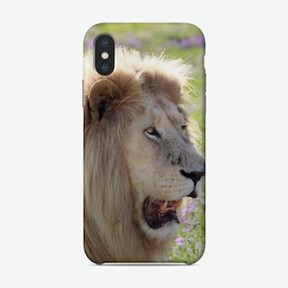 White Lion Male Phone Case